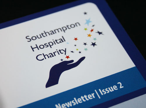 Southampton Hospital Charity Branding & Newsletter